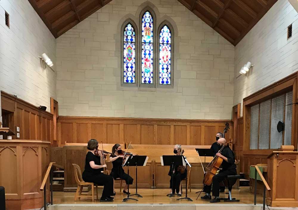Newton Mid-Kansas Symphony Orchestra string quintet