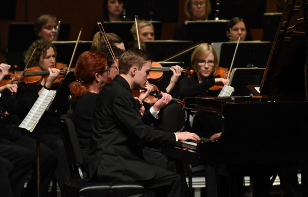 Newton Mid Kansas Symphony Orchestra concert photo